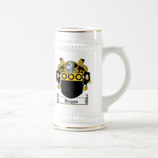 Hogan Family Crest Beer Stein