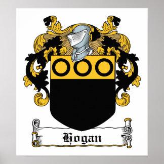Hogan Family Crest Poster