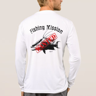 Hogfish Fishing Mission Wanted Shirt