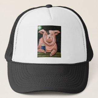 Hogging The Moonshine Trucker Hat
