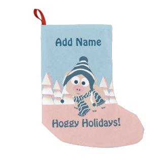 Hoggy Holidays! Winter Pig