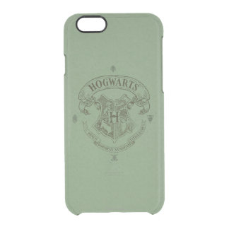 HOGWARTS™ Banner Crest Clear iPhone 6/6S Case