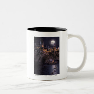 Hogwarts Boats To Castle Two-Tone Mug