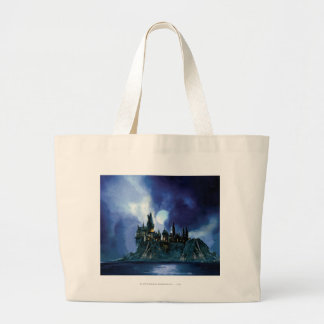 Hogwarts By Moonlight Canvas Bags