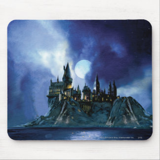 Hogwarts By Moonlight Mouse Pad