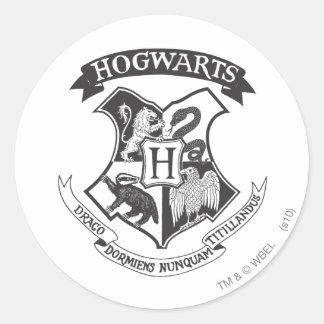 Hogwarts Crest 2 Round Stickers