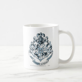Hogwarts Crest Blue Coffee Mugs