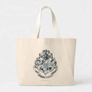 Hogwarts Crest Blue Jumbo Tote Bag