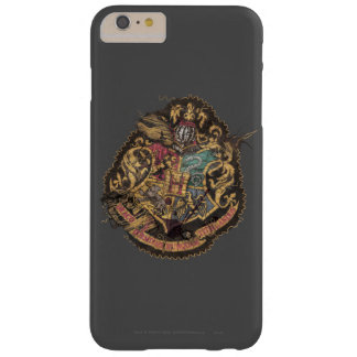 Hogwarts Crest - Destroyed Barely There iPhone 6 Plus Case