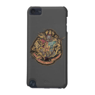 Hogwarts Crest - Destroyed iPod Touch (5th Generation) Cases
