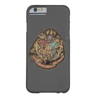 Hogwarts Crest - Destroyed Barely There iPhone 6 Case