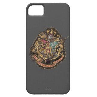 Hogwarts Crest - Destroyed iPhone 5 Cover