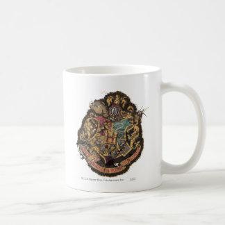 Hogwarts Crest - Destroyed Classic White Coffee Mug