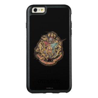 Hogwarts Crest - Destroyed OtterBox iPhone 6/6s Plus Case