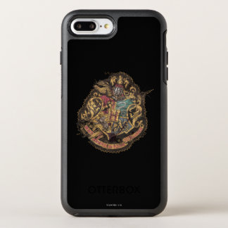 Hogwarts Crest - Destroyed OtterBox Symmetry iPhone 7 Plus Case