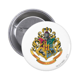 Hogwarts Crest Full Color 6 Cm Round Badge
