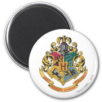 Hogwarts Crest Full Color 6 Cm Round Magnet