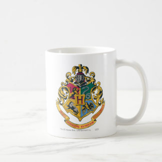 Hogwarts Crest Full Color Basic White Mug