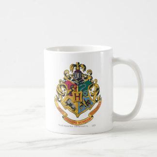 Hogwarts Crest Full Color Basic White Mug