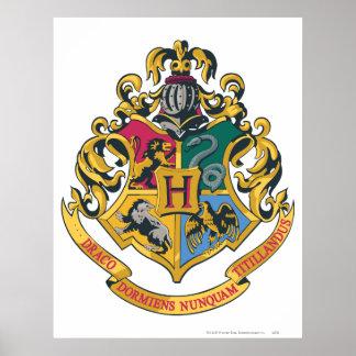 Hogwarts Crest Full Color Poster