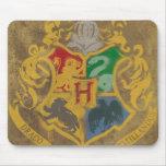 Hogwarts Crest HPE6 Mouse Pad