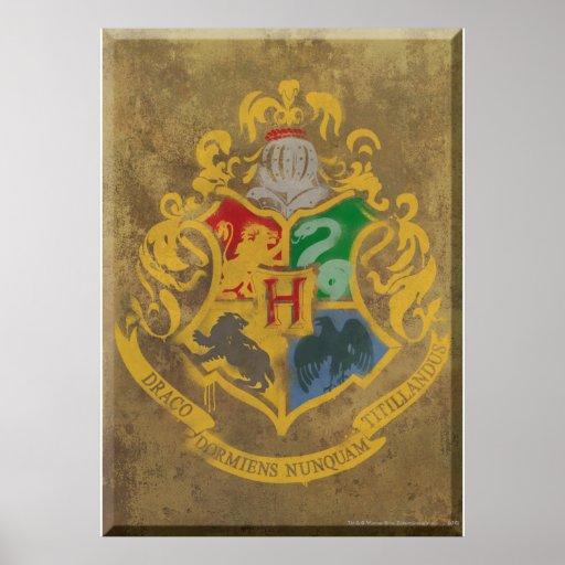 Hogwarts Crest HPE6 Posters