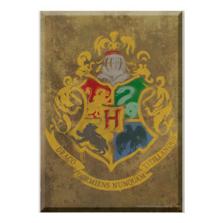 Hogwarts Crest HPE6 Posters
