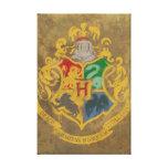 Hogwarts Crest Stretched Canvas Prints