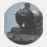 Hogwarts Express Round Stickers