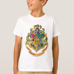 Hogwarts Four Houses Crest T-shirts