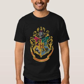 Hogwarts Four Houses Crest Tshirt