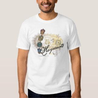 Hogwarts Logo and Profossors 2 T-shirts