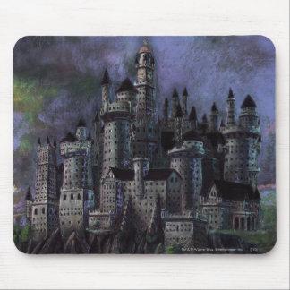 Hogwarts Magnificent Castle Mouse Pad