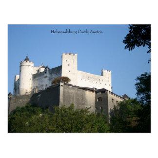 Hohensalzburg Castle, Austria Postcard