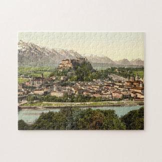 Hohensalzburg Castle, Salzburg, Austria Jigsaw Puzzle