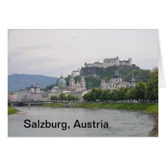 Hohensalzburg Castle, Salzburg, Austria Note Card
