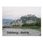 Hohensalzburg Castle, Salzburg, Austria Post Card