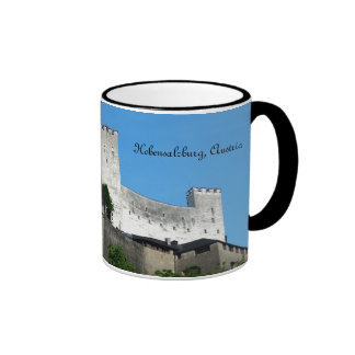 Hohensalzburg Fortress, Austria Coffee Mug