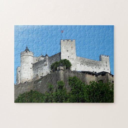 Hohensalzburg Fortress, Austria Jigsaw Puzzles