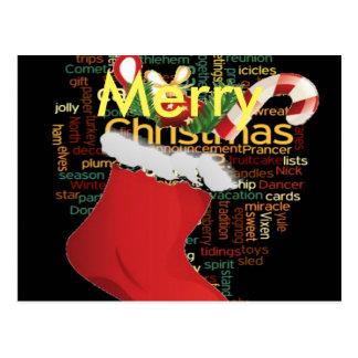 HoHoHo! Merry Christmas Postcard