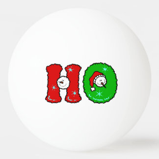 HOHOHO Santa Claus Laugh SnowMan Cute Christmas Ping Pong Ball