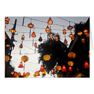 Hoi An Vietnam Lantern Card