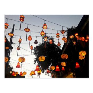 Hoi An Vietnam Lanterns Postcard