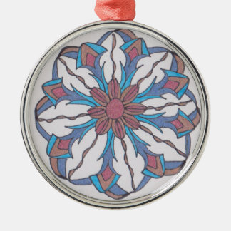 Hoilday Joy 12 Silver-Colored Round Decoration