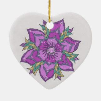 Hoilday Joy 35 Ceramic Heart Decoration