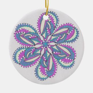 Hoilday Joy 52 Round Ceramic Decoration