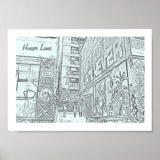 Hoiser Lane Poster