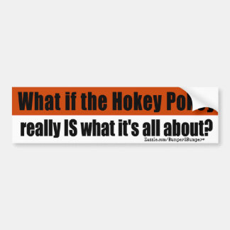 Hokey Pokey Bumper Sticker
