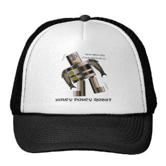 Hokey Pokey Robot T-shirts Mesh Hats