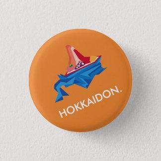 HOKKAIDON. Can batsuji (W/O) 3 Cm Round Badge